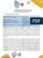 Syllabus Del Curso Diagnosticos Psicologicos