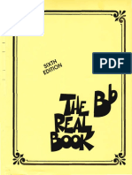 Bb Real Book Sixth Edition