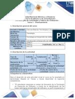 Guia de actividades y rubrica de evaluacion - Tarea 1 - Planteamiento (1).pdf