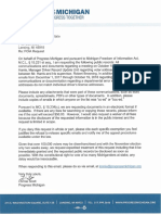 Progress Michigan SOS FOIA