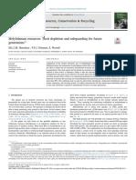 Molybdenum Resources Their Depletion and Safegu 2018 Resources Conservatio