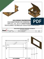 hologram engineering projector drawings