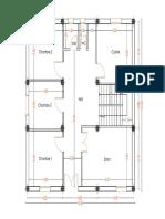 Plan d'architecture VILLA R+5