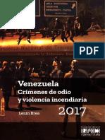 Venezuela Crímenes de Odio
