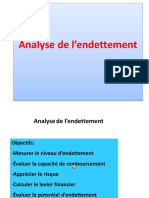 Analyse Endettement