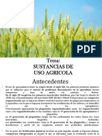 Sustancias Quimicas de Uso Agricola