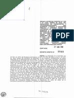 Decreto Exento n.°1842 del 28/08/2018 del MTT que revoca subsidio de transporte en isla Coldita, Piedra Blanca, San Pedro, Michailelo en Quellón