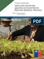 Producción Hortícola mapuche en el territorio Lafkenche Quidico-Ponotro