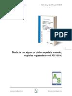 Diseño de una viga en un pórtico especial a momento.pdf