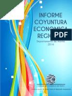 Informe de Coyuntura Economica Regional 2016