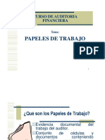 Papeles de Trabajo, Requisitos