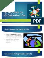 El Proceso de Globalizacion