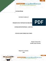 Actividad 4 Evidencia 2, Presentación Propuesta de Mejoramiento