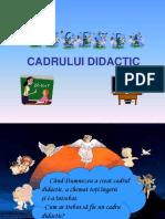 Legenda Cadrului Didactic