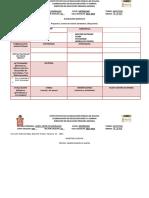 Formato planeación proyectos