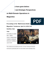 Multi-Domain Operations in Megacities Proceedings