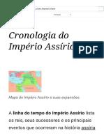 Cronologia do Império Assírio - Wikipedia.pdf