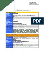 Guía Docente.patrologia.2016 2017