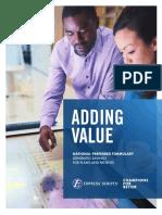 the npf - adding value