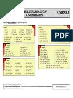 Algebra Multiplicacion de 2do