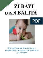 Gizi Bayi Dan Balita