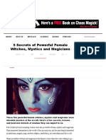 5 Secrets of Powerful Female Witches, Mystics and Magicians.pdf