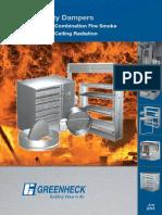 Folleto Fire, Fire-Smoke Dampers