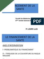 4- Le Financement de La Sante