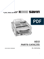 4700L Parts Manual