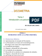 tema1-INTRODUCCION-PSICOMETRIA