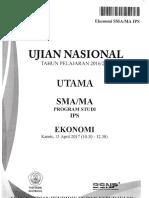 UN Ekonomi 2017 Bimbingan Alumni UI