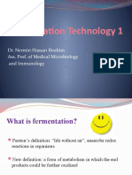 Fermentation 1 Power Point Presentation