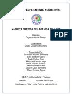 Informe Maqueta Empresa Lacthosa Sula