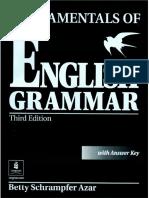 Azar - 01 - Fundamentals of English Grammar - Cover