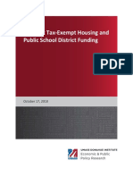 Amherst Tax-Exempt Housing and Public School District Funding