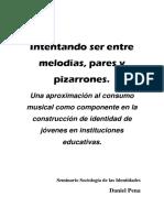 De Liceos, Música e Identidades Juveniles