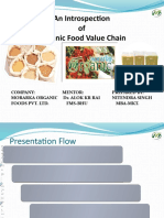 Organic Food Value Chain