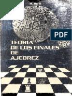 Teoría de Los Finales de Ajedrez - Reti, RicardoOCR