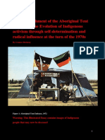The Establishment of the Aboriginal Tent Embassy