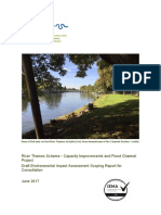 River Thames Scheme Scoping Report (2017)