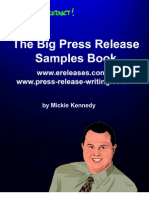 Big Press Release Book