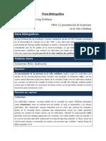 Ficha Sociologia Goffman.docx