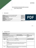 Formato Plan de Trabajo Docente 1 Semestre Sj.
