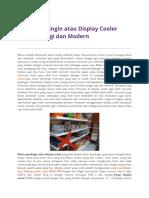 Mesin Pendingin Atau Display Cooler Hemat Energi Dan Modern