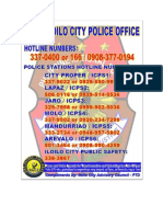 Police Hotlines