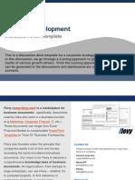 Flevy Strat Dev Discussion Deck