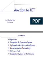 ICT Introduction