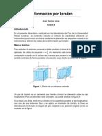 Introducción a conceptos de deformación por Torsión
