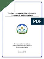 Sherig PD Framework & Guidelines 2014