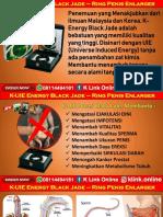 K Energy Black Jade K Link Di Bharat Salak WA 08114494181